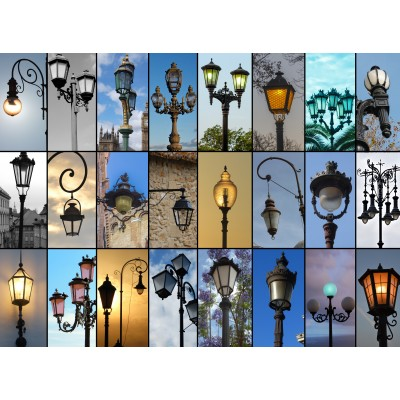 Collage Lampen