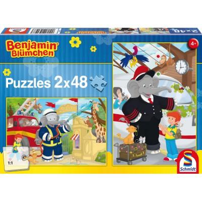 38 cm Schmidt Spiele Benjamin Blümchen Sonstige Spielzeug-Artikel