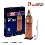 Cubic-Fun-C703H Puzzle 3D - Big Ben, London, England