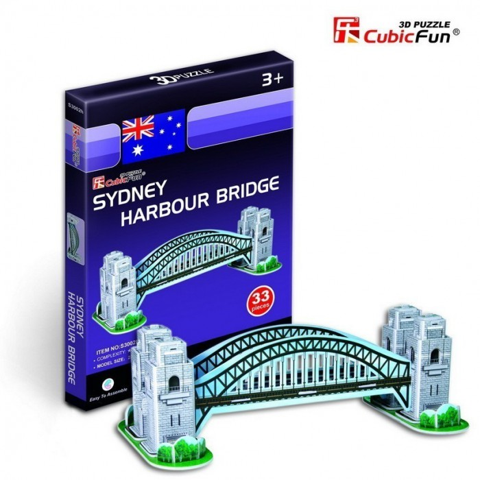 Mini 3D Puzzle - Harbour Bridge, Sydney, Australien