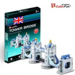Cubic-Fun-S3010H Puzzle 3D Mini - Tower Bridge, London