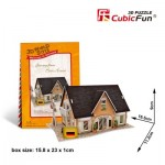 Cubic-Fun-W3126H 3D Puzzle World Style - Welcome to Germany