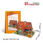 Cubic-Fun-W3128H 3D Puzzle World Style - Welcome to Germany