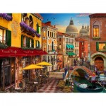 Puzzle   Canal Cafe Venice