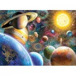 Puzzle  Perre-Anatolian-1033 Planets in Space