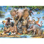 Puzzle  Perre-Anatolian-1043 Africa Smile