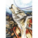 Puzzle  Perre-Anatolian-3328 Howling Wolf