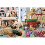 Puzzle  Perre-Anatolian-3334 Puppies Play Time