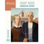 Puzzle   Grant Wood - American Gothic