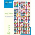 Puzzle   Gregory L. Blackstock - More Colorful Egg Pattern Favorites to Go For, 2005