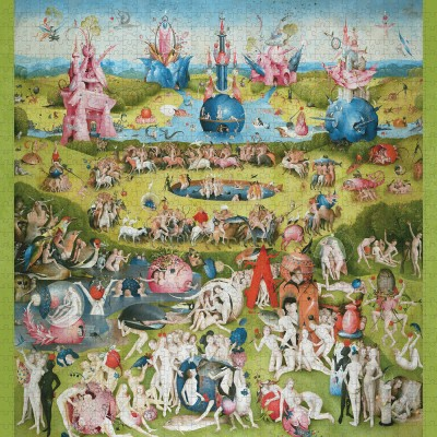 Puzzle Pomegranate-AA1104 Hieronymus Bosch - The Garden of Earthly Delights