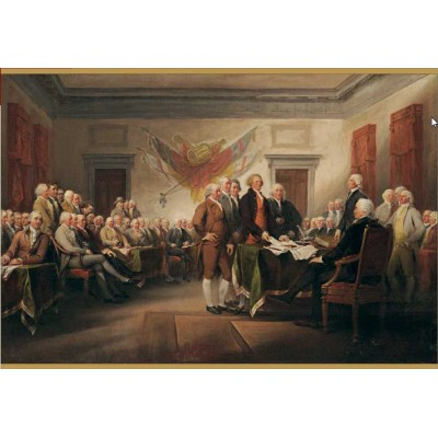 Puzzle Pomegranate-AA676 The Declaration of Independence, July 4, 1776
