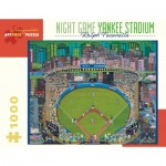 Puzzle  Pomegranate-AA912 Ralph Fasanella - Night Game - Yankee Stadium, 1981