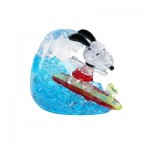 HCM-Kinzel-59188 Crystal Puzzle - Snoopy Surfing