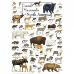 Puzzle   Land Mammals of North America