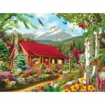 Puzzle  Master-Pieces-31654 XXL Teile - Mountain Hideaway