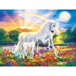 Puzzle  Master-Pieces-31853 XXL Teile - Glow in the Dark - Bedtime Stories