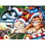 Puzzle  Master-Pieces-31911 XXL Teile - Holiday Treasures