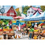 Puzzle  Master-Pieces-32169 Old Mill Farm Stand