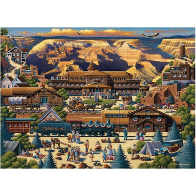 Master-Pieces-45118 Puzzle im Koffer - Grand Canyon