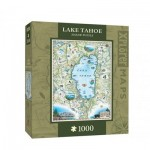 Puzzle  Master-Pieces-71707 Xplorer Maps - Lake Tahoe