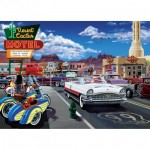 Puzzle  Master-Pieces-71950 Drive Through on Route 66