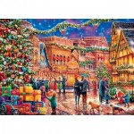 Puzzle  Master-Pieces-71983 Holiday Village Square