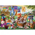 Puzzle   XXL Teile - Laundry Day Rascals