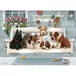 Puzzle  Cobble-Hill-54602 XXL Teile - Family - Porch Pals