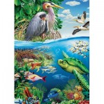 Puzzle  Cobble-Hill-54628 XXL Teile - Earth Day
