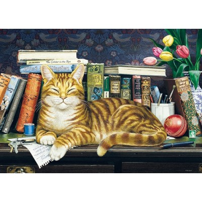 Puzzle Cobble-Hill-58892 Well Read Ginger