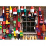 Puzzle  Cobble-Hill-80030 Lobster Buoys