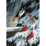 Puzzle  Cobble-Hill-80073 Persis Clayton Weirs: Die Ornithologen