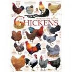 Puzzle  Cobble-Hill-80120 Chicken Quotes