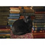 Puzzle  Cobble-Hill-80124 Library Cat
