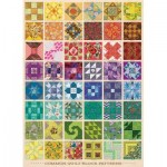 Puzzle  Cobble-Hill-80237 Common Quilt Blocks