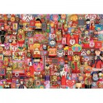 Puzzle  Cobble-Hill-80265 Dollies