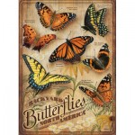 Puzzle  Cobble-Hill-85006 XXL Teile - Backyard Butterflies