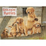 Puzzle  Cobble-Hill-85019 XXL Teile - Golden Puppies
