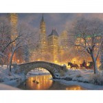 Puzzle  Cobble-Hill-85041 XXL Teile - Mark Keathley: Winter in the Park