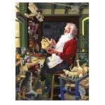 Puzzle  Cobble-Hill-85043 XXL Teile - Santa's Workbench
