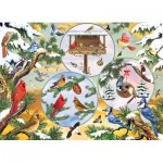 Puzzle  Cobble-Hill-85057 XXL Teile - Winterbird Magic