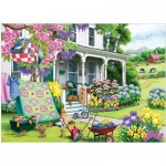 Puzzle  Cobble-Hill-85070 XXL Teile - Spring Cleaning