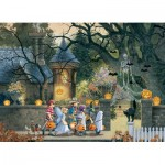 Puzzle  Cobble-Hill-85085 XXL Teile - Halloween Buddies