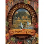 Puzzle  Cobble-Hill-88005 XXL Teile - Welcome to the Cabin