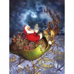 Puzzle  Cobble-Hill-88025 XXL Teile - Merry Christmas to All
