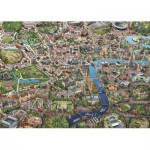 Puzzle  Jumbo-11086 Adrian Chesterman: Map of London