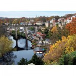 Puzzle  Jumbo-11091 River Nidd at Knarlesborough