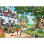 Puzzle  Jumbo-11144 Around Britain - Brenchley Village, Kent
