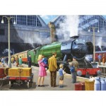 Puzzle  Jumbo-11160 Flying Scotsman at Kings Cross